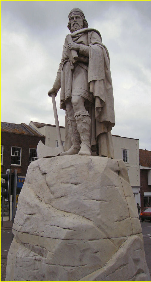 King Alfred the Great - a major influence on Wantage and England